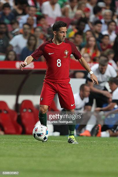 Portugal's midfielder Joao Moutinho during the International Friendly match between Portugal and Estonia in preparation for Euro 2016 at Estadio da...