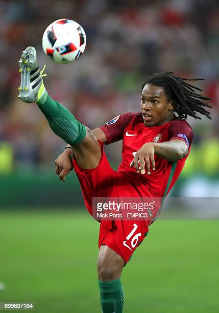 Portugal's Renato Sanches in action