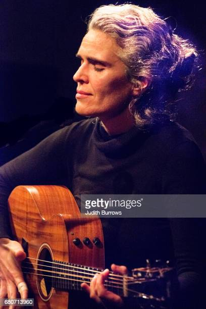 Portugese singer and guitarist Lula Pena in concert at Cafe OTO London on the 11th March 2017