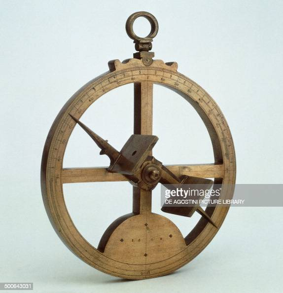 Portuguese bronze nautical astrolabe by Francisco de Goes diameter 197 cm Florence Museo Di Storia Della Scienza