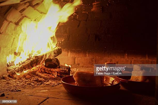 Portuguese Food In Wood Burning Stove