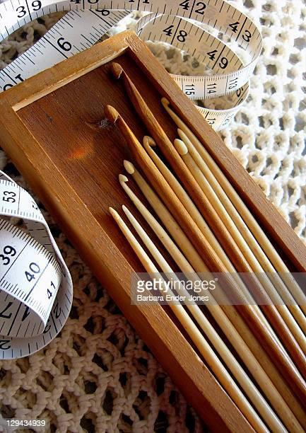 Portuguese hooked knitting needles