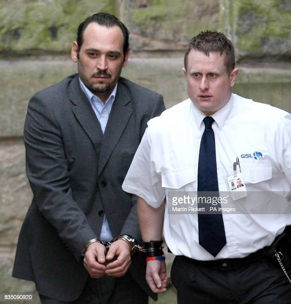 Portuguese lorry driver Paulo Jorge Nogueira da Silva leaves Chester Crown Court after he was jailed for three years for causing the deaths of a...