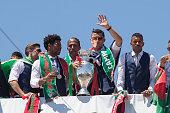 Portuguese midfielder Adrien Silva Portuguese defender Eliseu Portuguese defender Bruno Alves Portuguese forward Cristiano Ronaldo Portuguese forward...