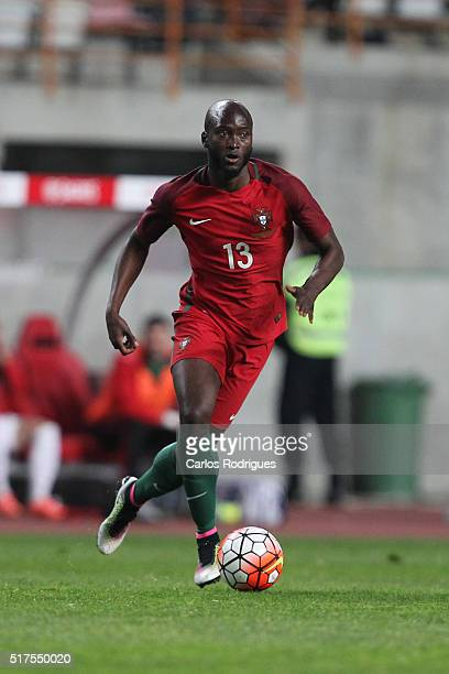 Portuguese midfielder Danilo Pereira during the match between Portugal and Bulgaria Friendly International at Estadio Municipal de Leiria on March 25...