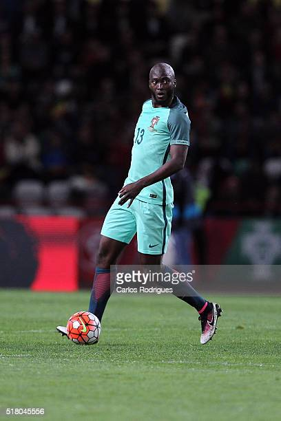 Portuguese midfielder Danilo Pereira during the match between Portugal and Belgium Friendly International at Estadio Municipal de Leiria on March 29...