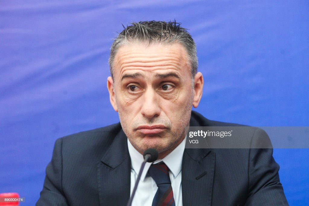 Official Presentation Of Paulo Bento In Chongqing Lifan