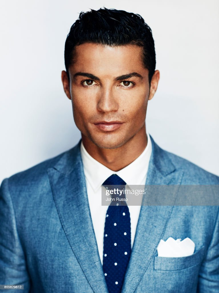 Portuguese professional footballer Cristiano Ronaldo is photographed for Saccor Brothers on August 18, 2015 in Madrid, Spain.