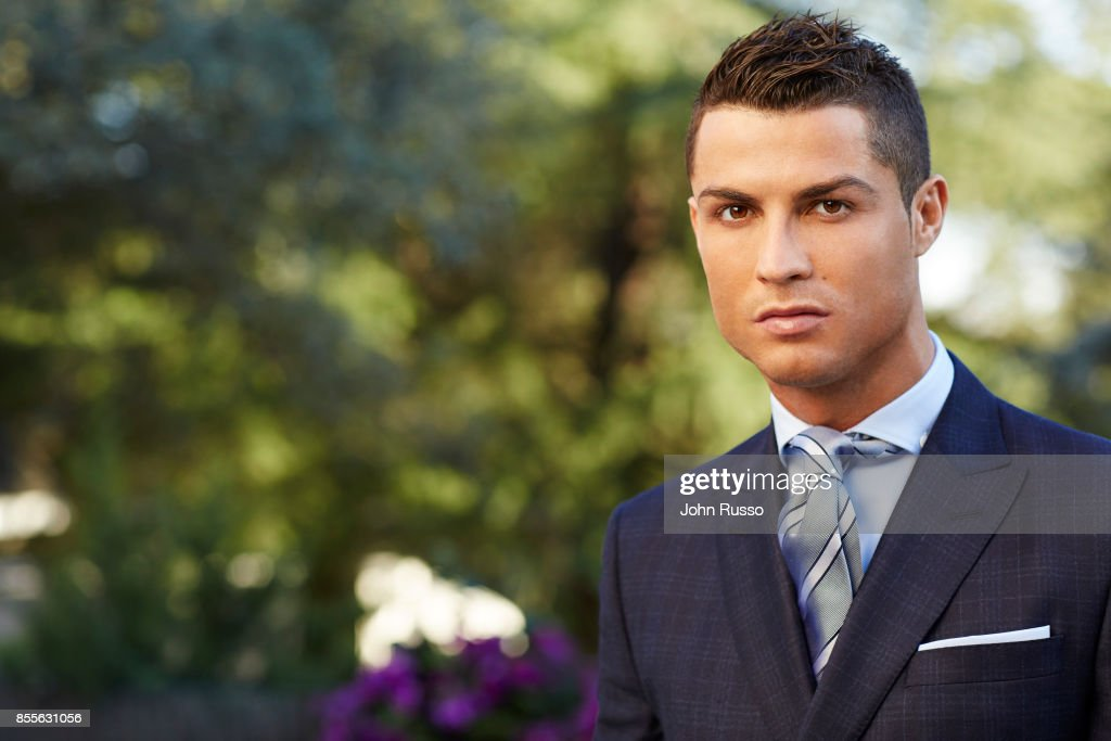 Portuguese professional footballer Cristiano Ronaldo is photographed for Saccor Brothers on December 3, 2015 in Madrid, Spain.