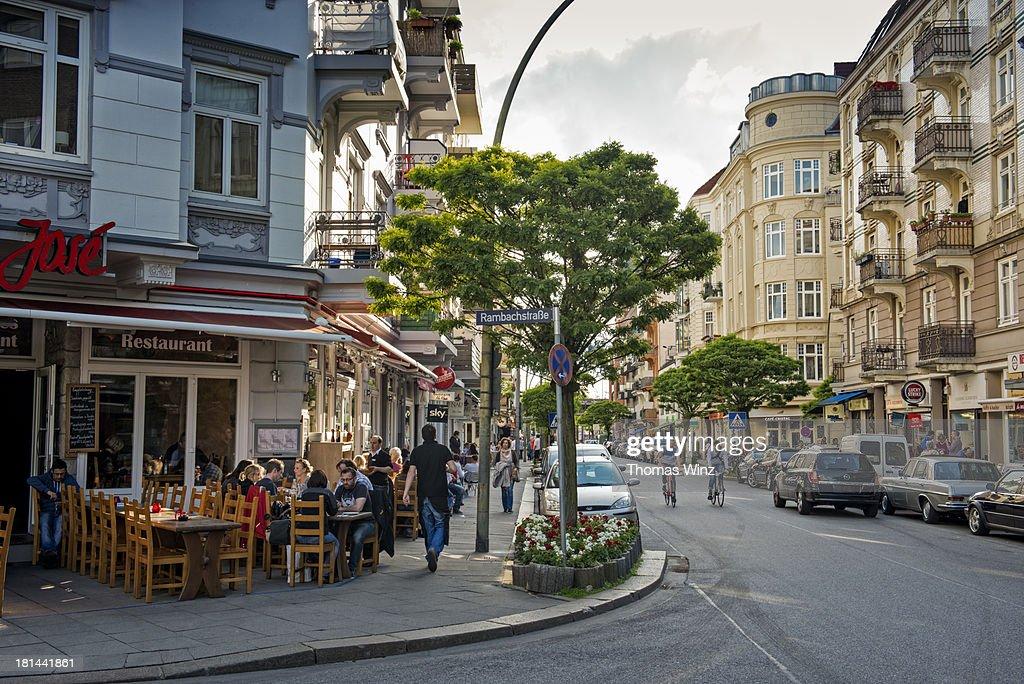 Portuguese Quarter in Hamburg