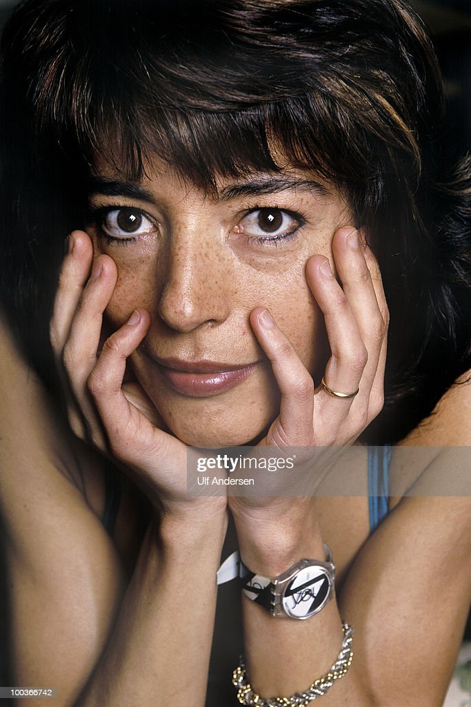 LISBOA, PORTUGAL - February 1. Portuguese writer Clara Pinto Correia at a portrat session at her home on February 1, 2000. Lisboa, Portugal.