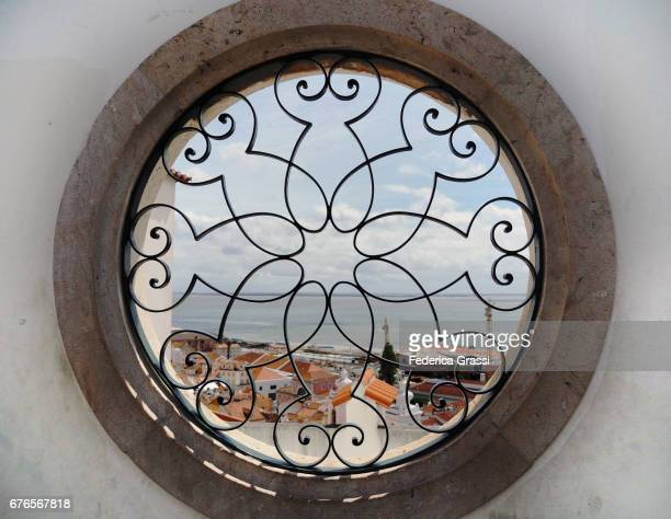 Portuguese Wrought Iron Window Grille
