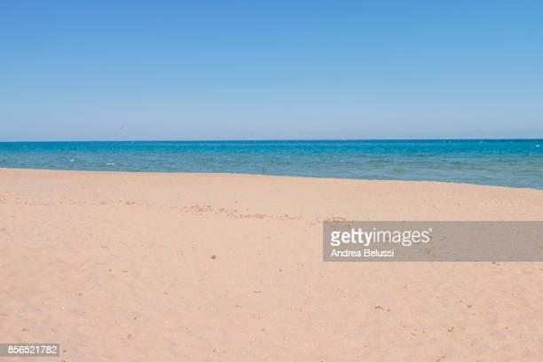 Posada beach, Posada, Nuoro province, Sardinia district, Italy