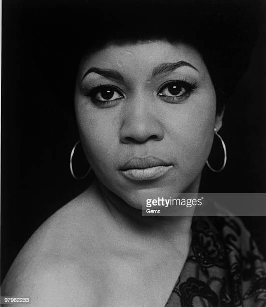 Posed portrait of American singer Mavis Staples in 1970