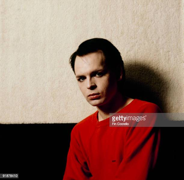 Posed portrait of Gary Numan taken at RAK studios in London England in February 1981