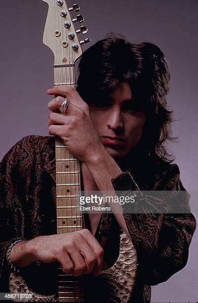 Posed portrait of rock band Ratt 1987