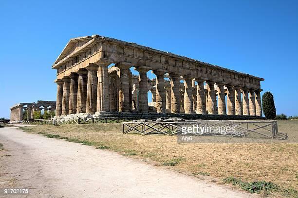 Poseidon temple (Paestum, Italy) HDR