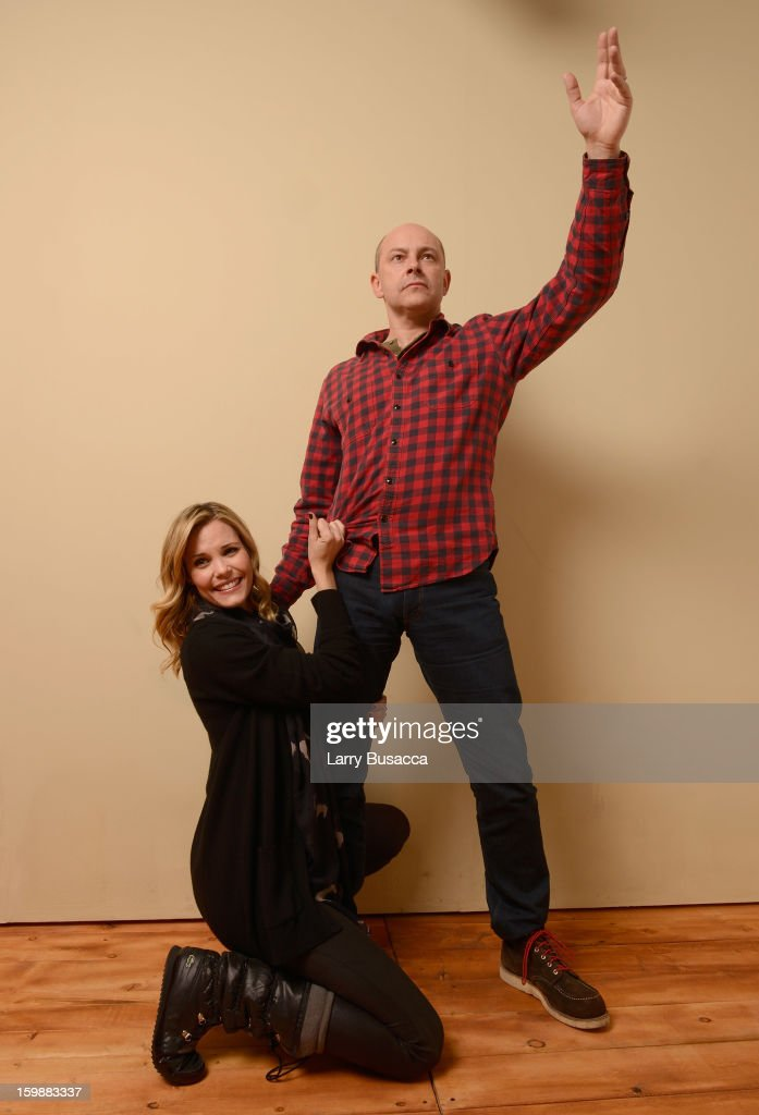 poses for a portrait during the 2013 Sundance Film Festival at the Getty Images Portrait Studio at Village at the Lift on January 21, 2013 in Park City, Utah.
