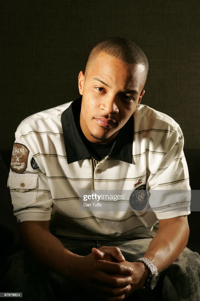 T.I. poses for a portrait on February 4, 2009 in Los Angeles, California.