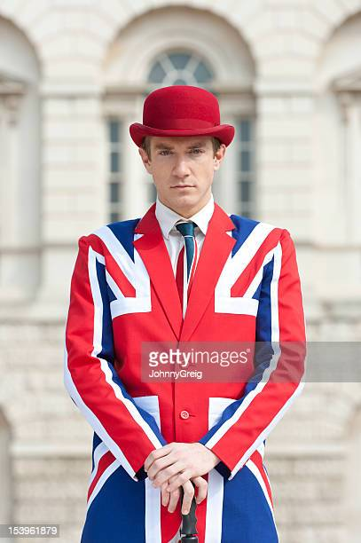 Posh British Man