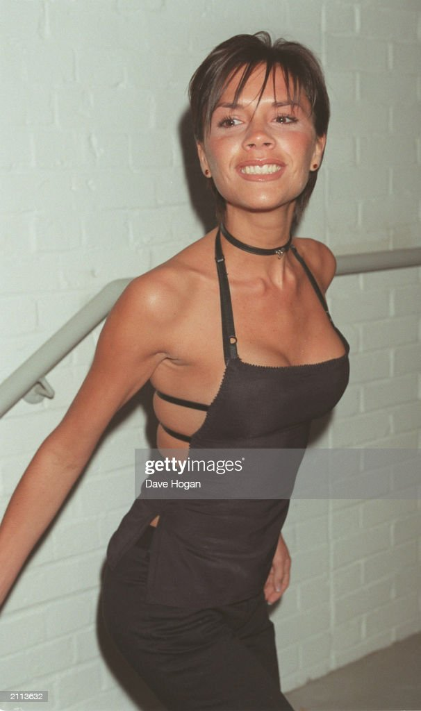 Posh Spice Victoria Adams arrives at the VH1 5th birthday party in London 1999 The party was also to celebrate the launch of Baby Spice Emma Bunton's...