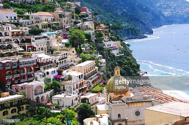 Positano, la Costiera Amalfitana, Italia