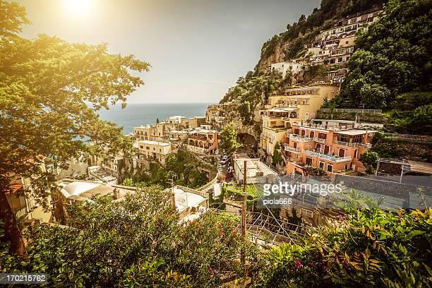 Positano und Amalfi Coast
