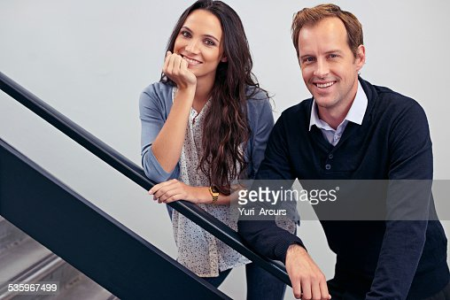 Positive professionals : Stock Photo