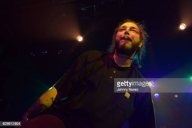 Post Malone performs at Irving Plaza on December 14 2016 in New York City