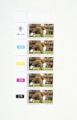 Postage stamps bearing a picture of the South African golfer Gary Player 1980 Bophuthatswana issued these stamps in 1980 as part of its campaign to...