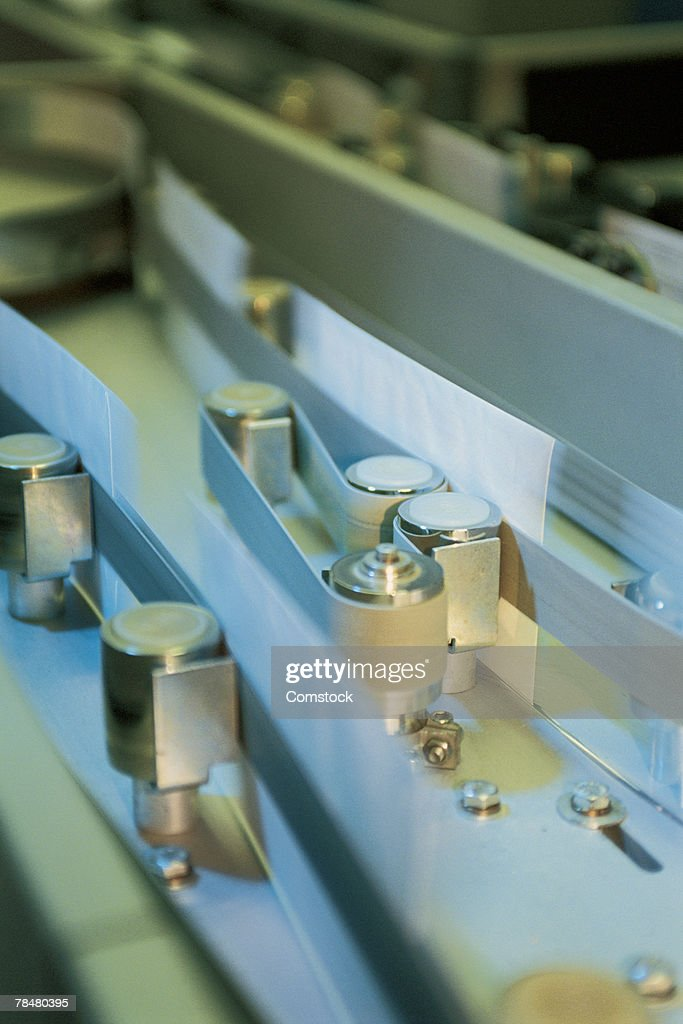 Postal sorting machine