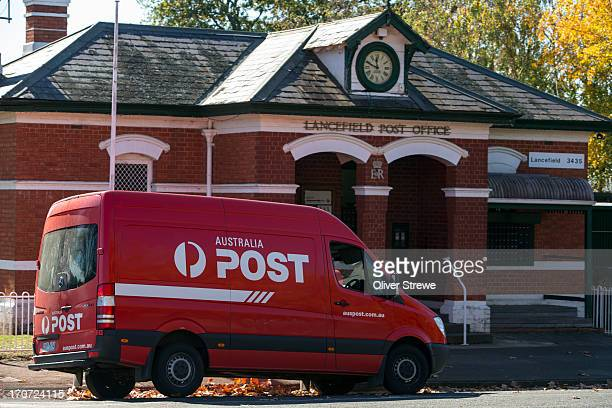Postal Van and post Office