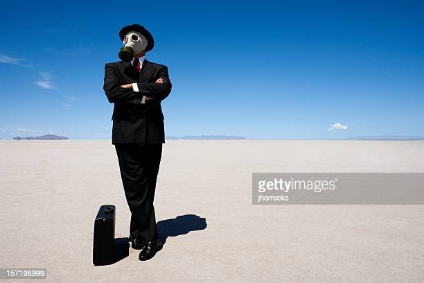 Post-apocalyptic Businessman