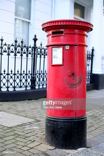 Postbox in London streets