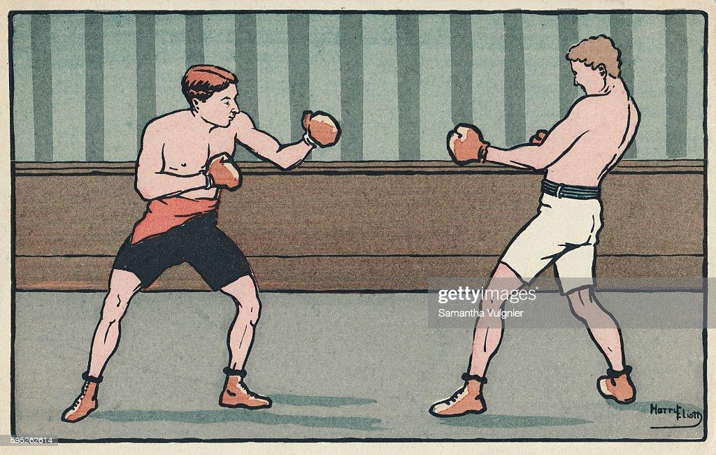 A postcard from circa 1910