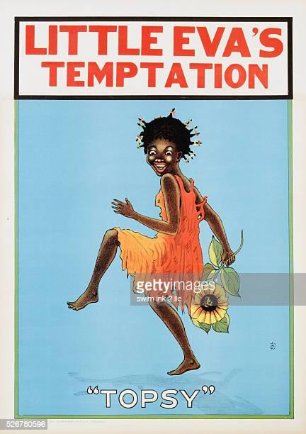 Poster Advertisement for the Musical Burlesque Little Eva's Temptation by Henrique Vivian Messetti