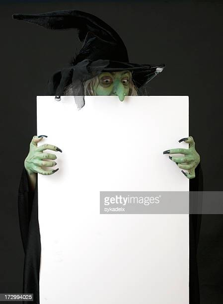 Poster Board Witch