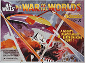 A poster for Byron Haskin's 1953 science fiction film 'The War of the Worlds'
