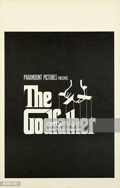 A poster for Francis Ford Coppola's 1972 drama 'The Godfather'