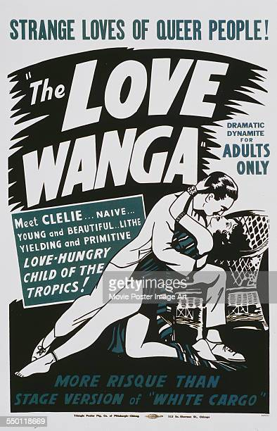 A poster for George Terwilliger's 1936 horror 'Ouanga'