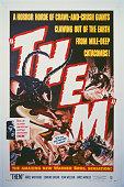 A poster for Gordon Douglas's 1954 horror film 'Them'