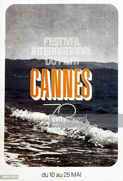 Poster for International Film Festival in Cannes in 1973