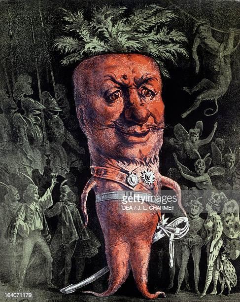 Poster for Le roi carotte by Jacques Offenbach Paris BibliothèqueMusée De L'Opéra National De ParisGarnier