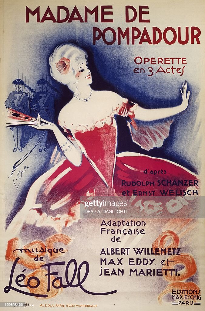 Madame Pompadour dönemi Fransa 68