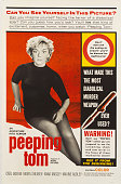 A poster for Michael Powell's 1960 drama 'Peeping Tom'