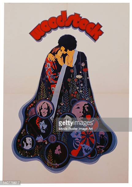 A poster for Michael Wadleigh's 1970 music festival documentary 'Woodstock'