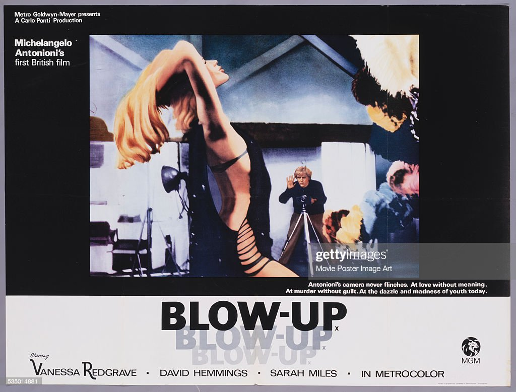 1488 meaning - A Poster For Michelangelo Antonioni S 1966 Drama Blow Up Starring David Hemmings And