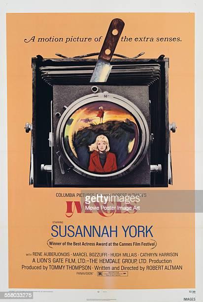 A poster for Robert Altman's 1972 drama 'Images' starring Susannah York