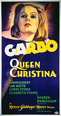 A poster for Rouben Mamoulian's 1933 biopic 'Queen Christina' starring Greta Garbo