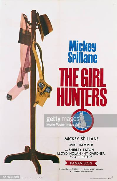 A poster for Roy Rowland's 1963 crime film 'The Girl Hunters'